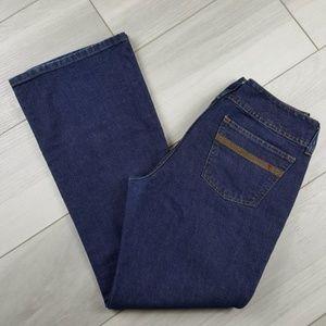 Tommy Hilfiger Dark Wash Wide Leg Flare Jeans 15